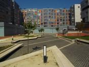 Plaza en Urban Galindo -